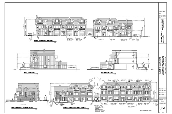 Townhouse Elevations